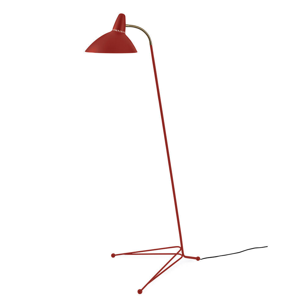 Lightsome floor lamp in red grape colour