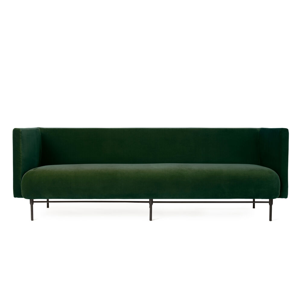Galore sofa, 3 seater in forest green colour.