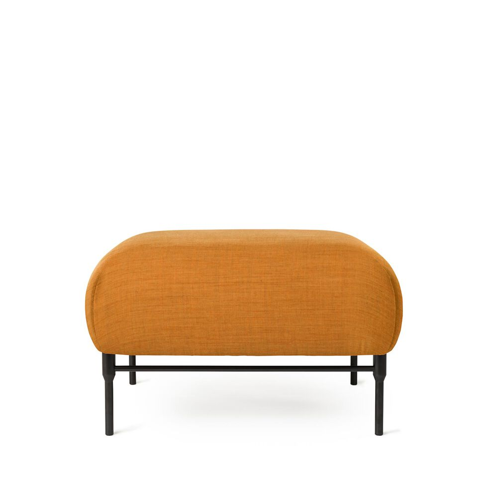 Galore pouf in dark ochre.