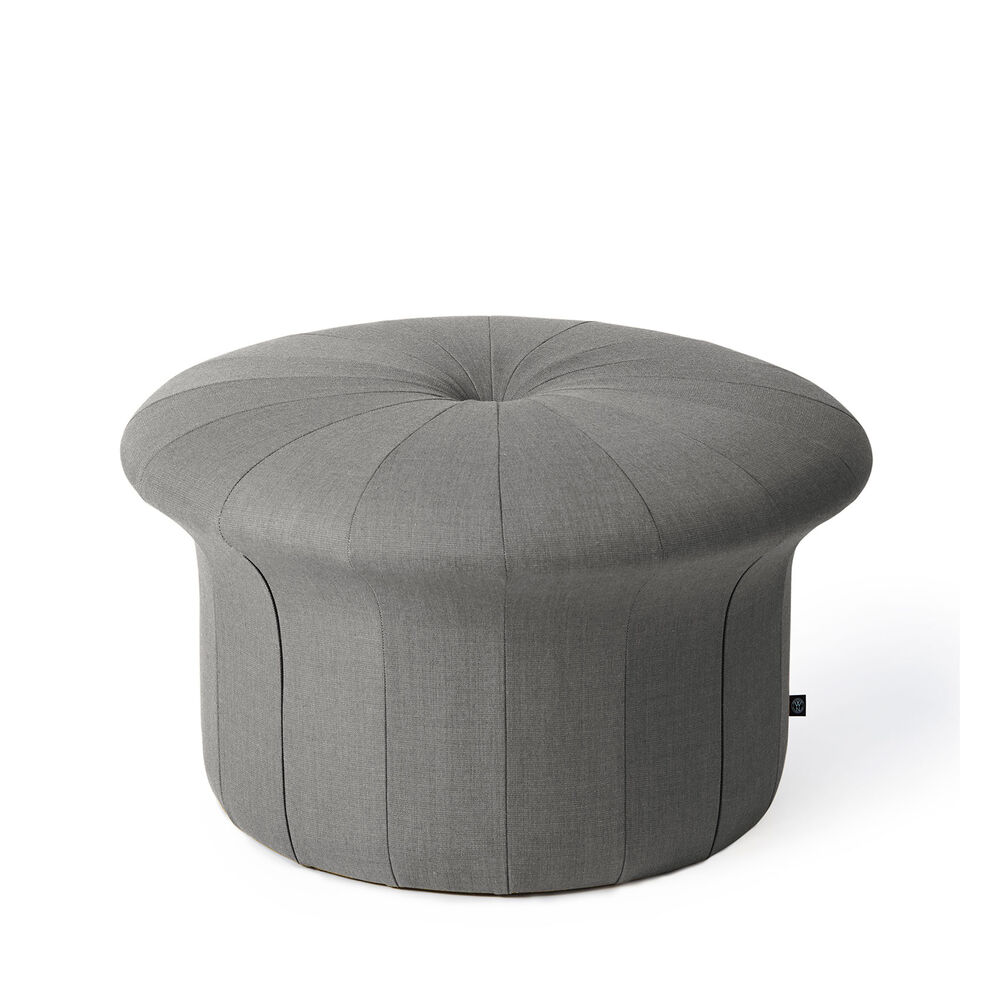 Grace pouffe in grey melange colour