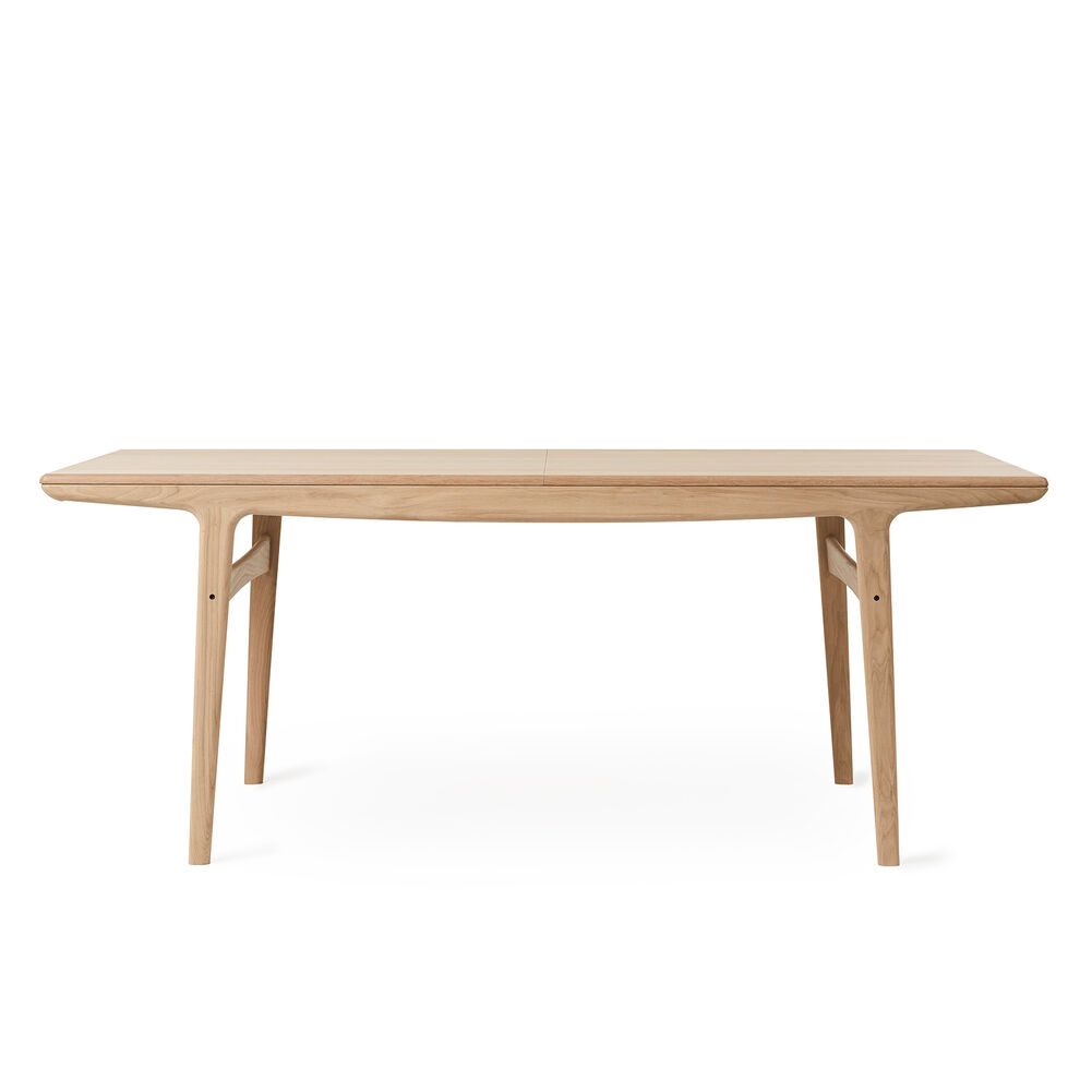 Evermore dining table in oiled oak, 190 cm.