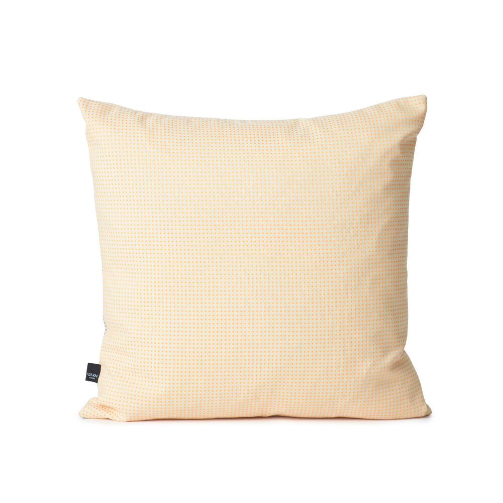Dune sprinkle map cushion in beige grey colour