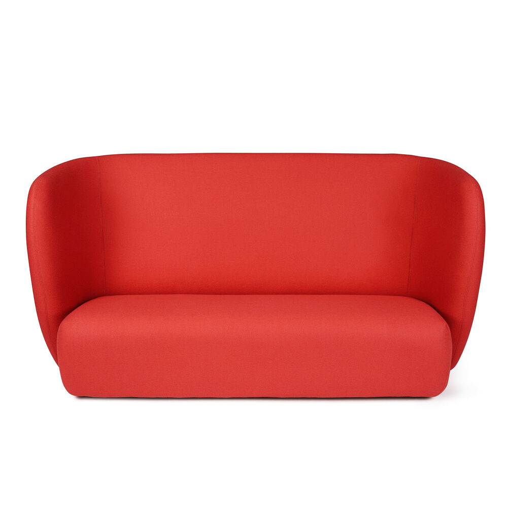 Haven sofa in apple red colour