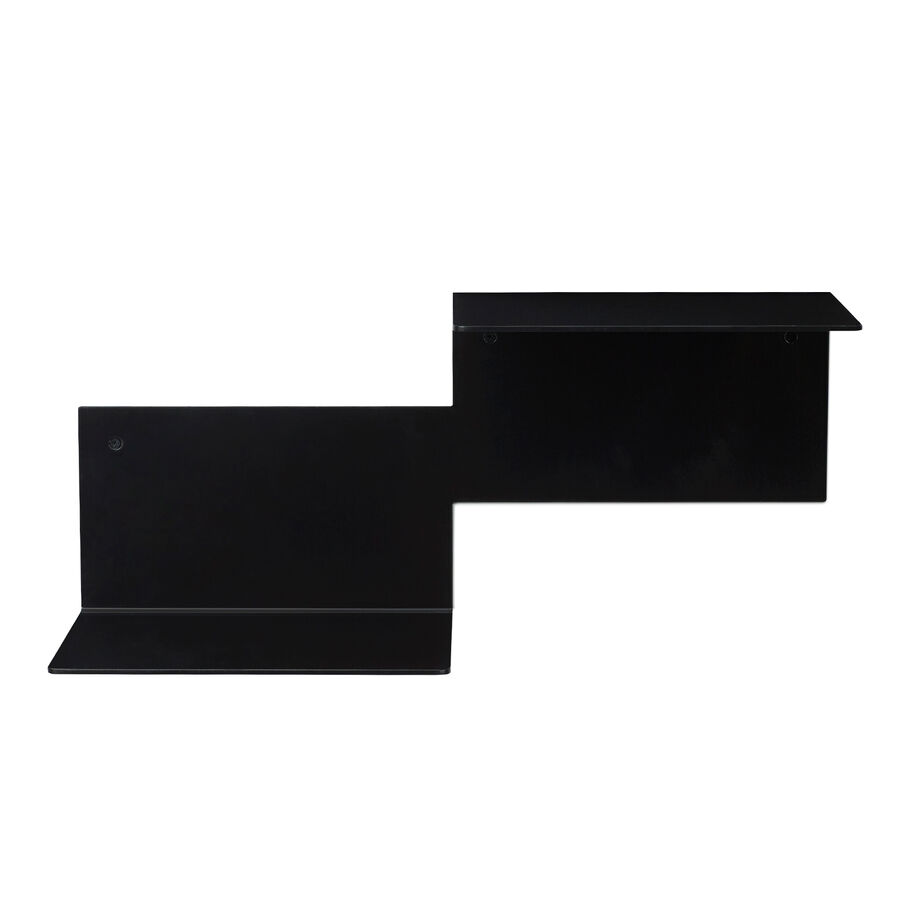 Repeat shelf in black noir, right unit