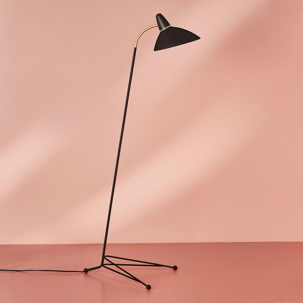 lightsome floor lamp in black