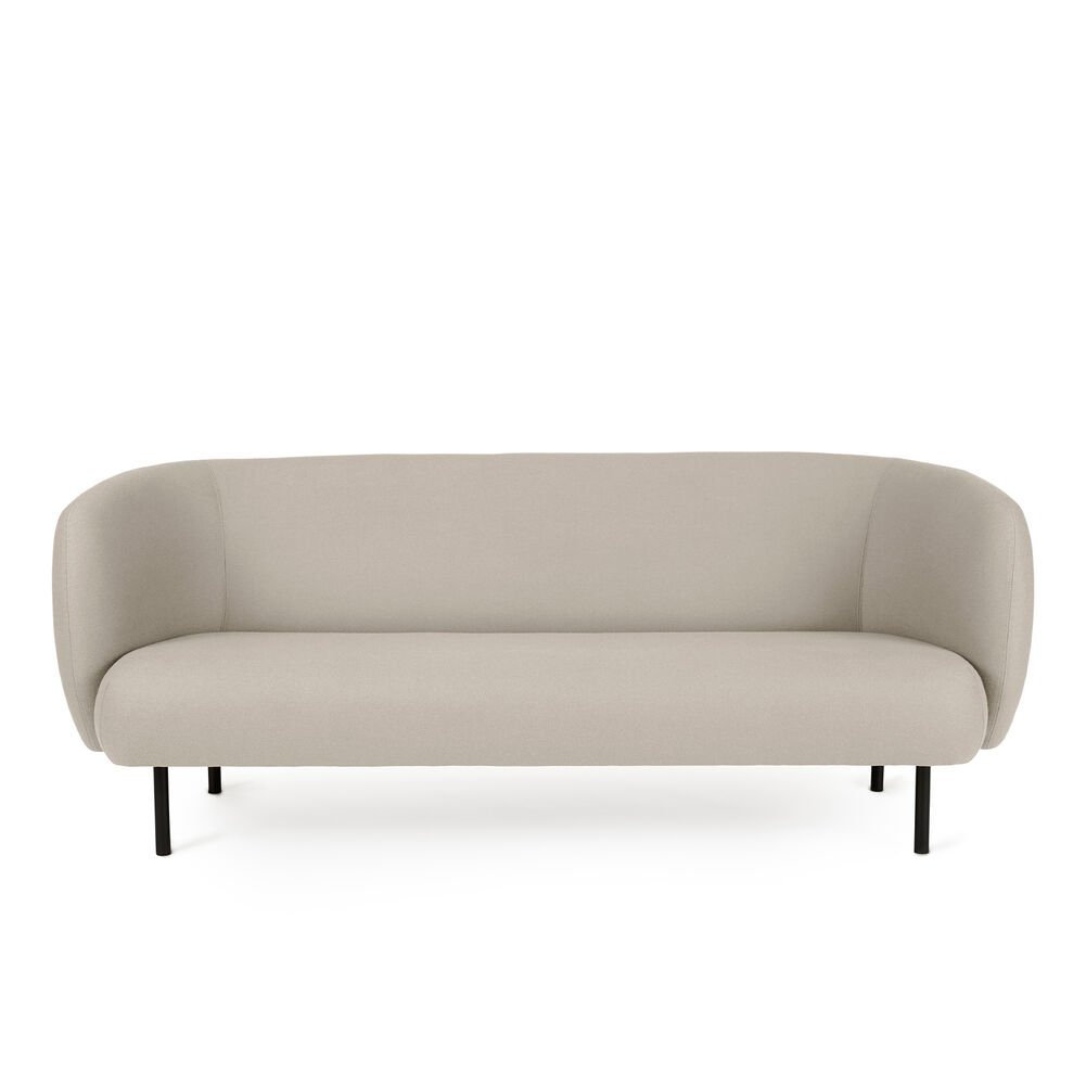 Cape sofa in pearl grey.