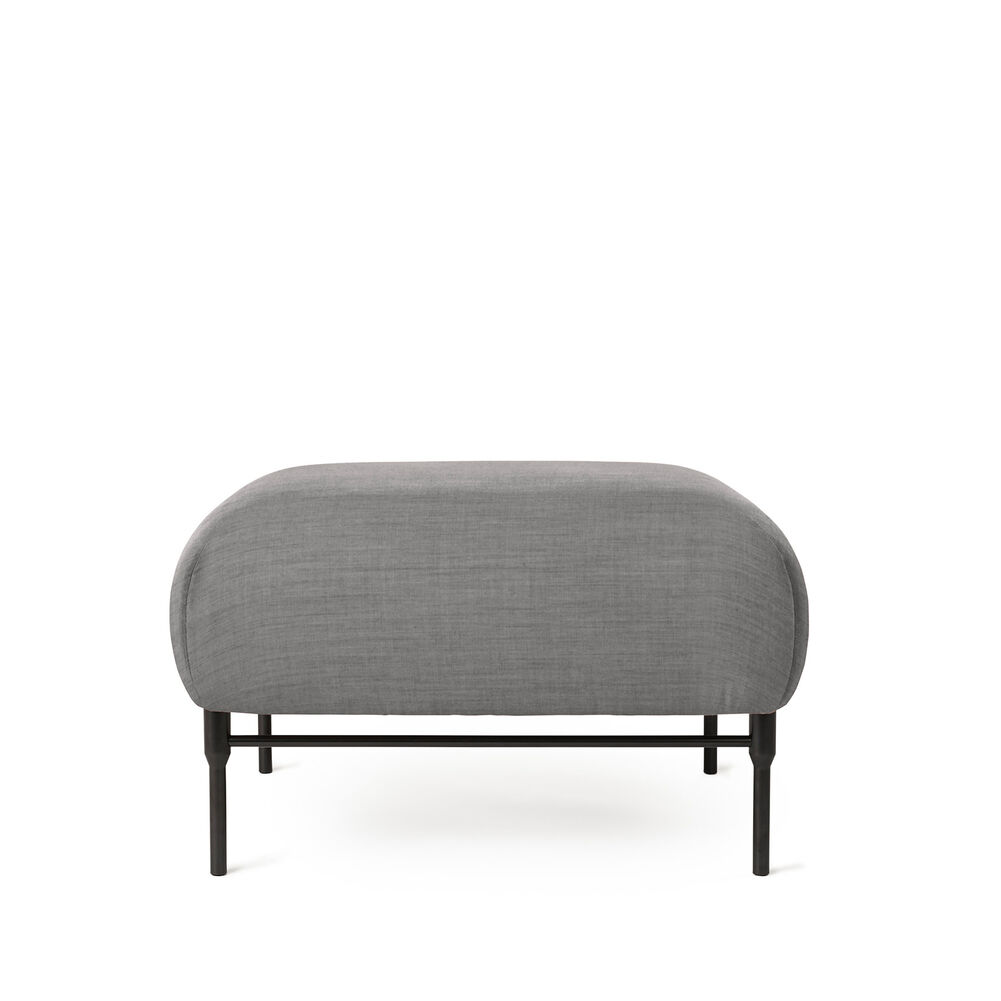 Galore pouf in grey melange.