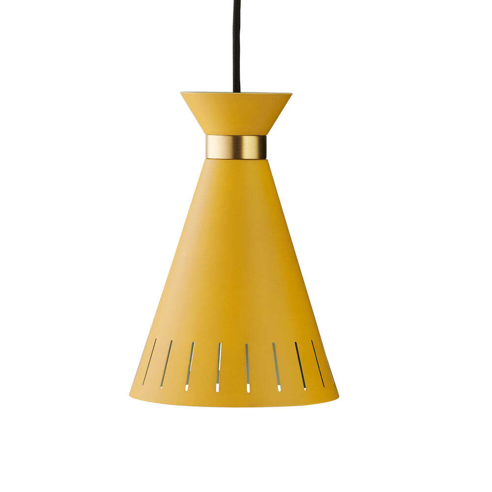 cone pendant yellow