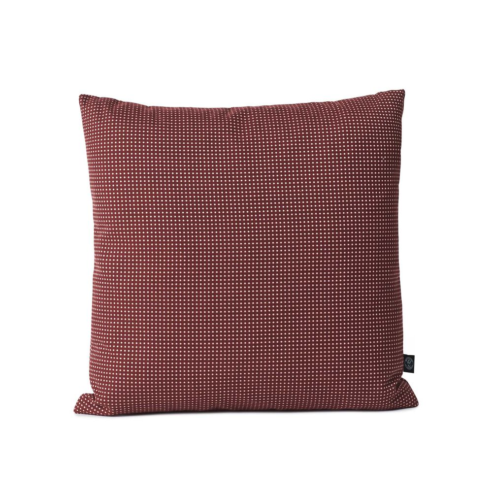 Fire sprinkle cushion in bordeaux colour