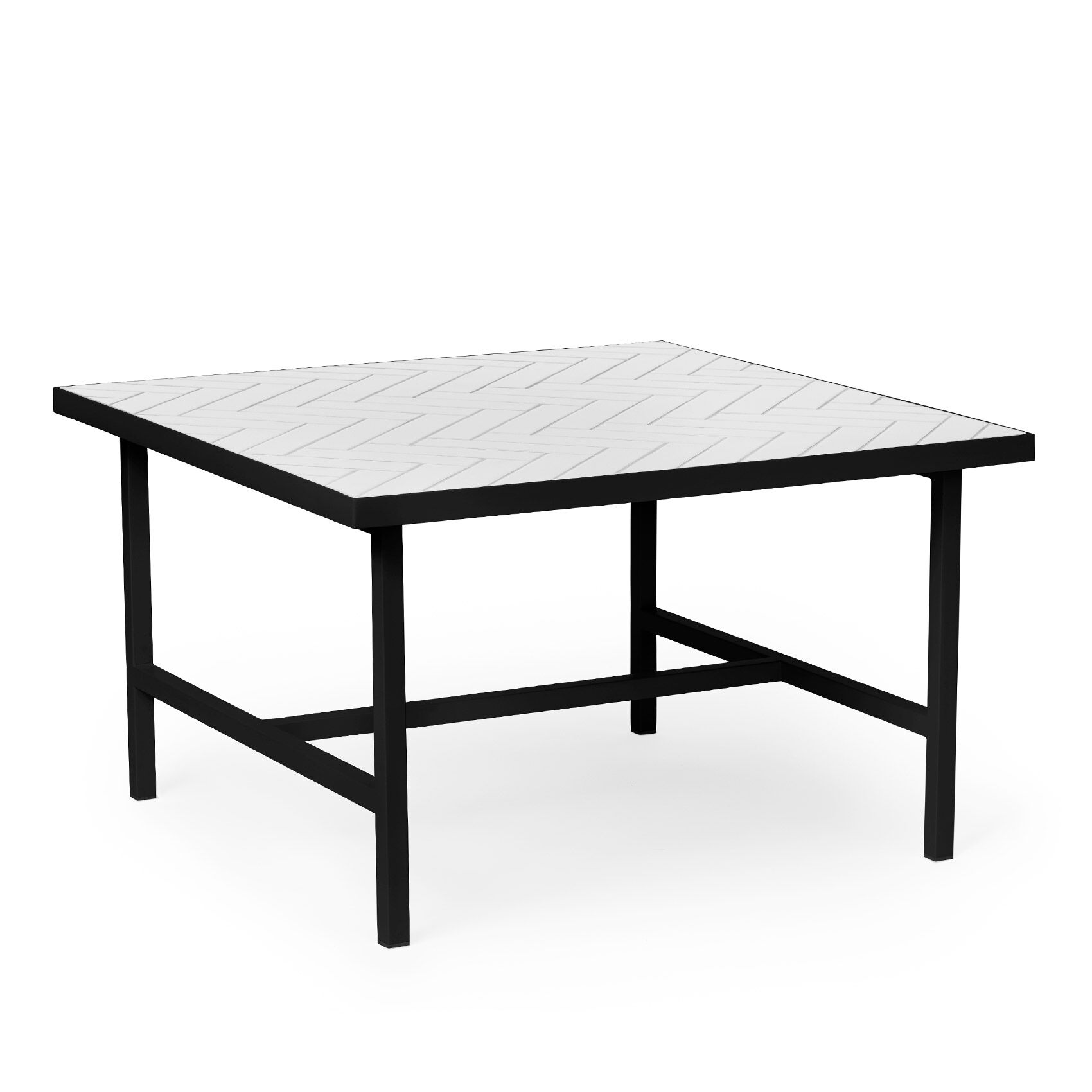 - Herringbone Tile Coffee Table Warm Nordic