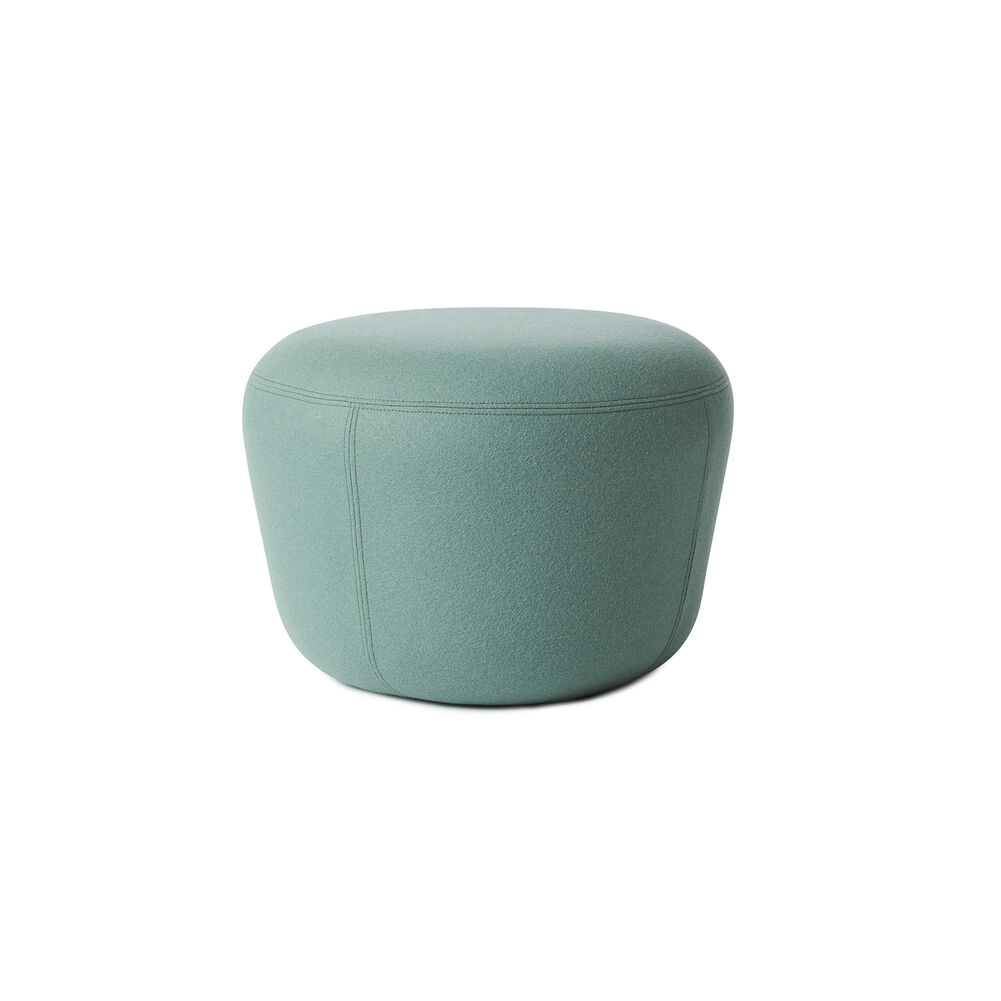 Haven pouf in jade colour