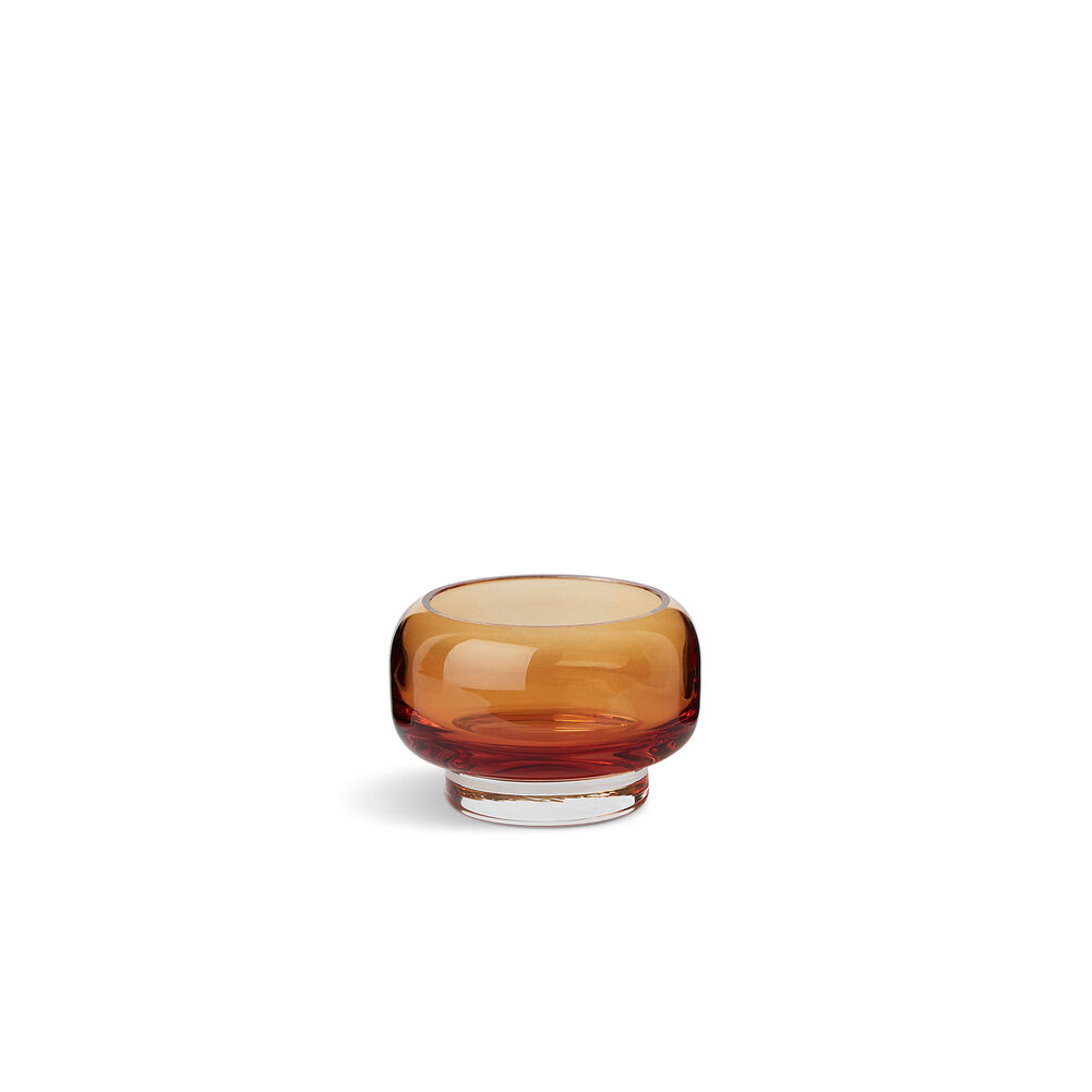 Small stack tealight in amber colour