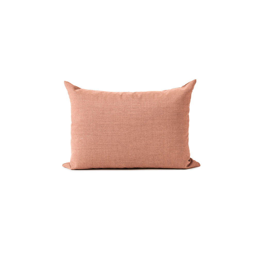Galore sofa cushion in pale rose colour.