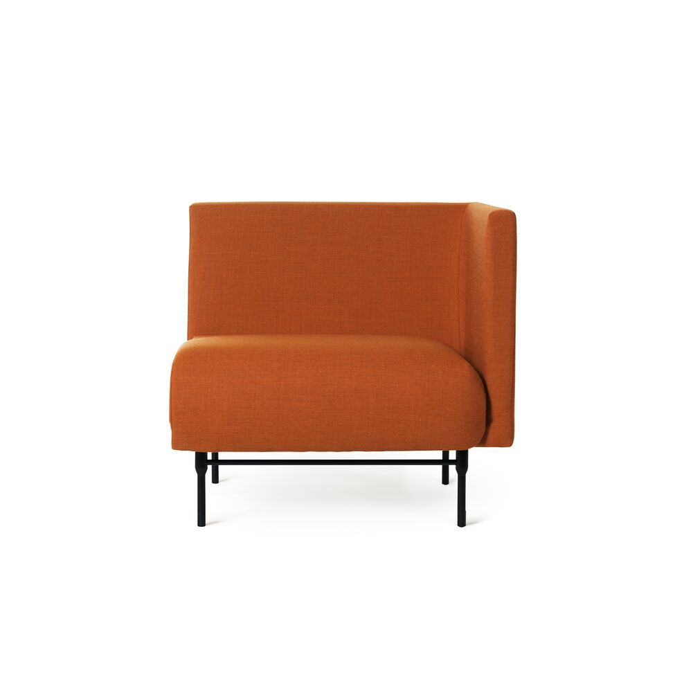 Galore right module in burnt orange colour.