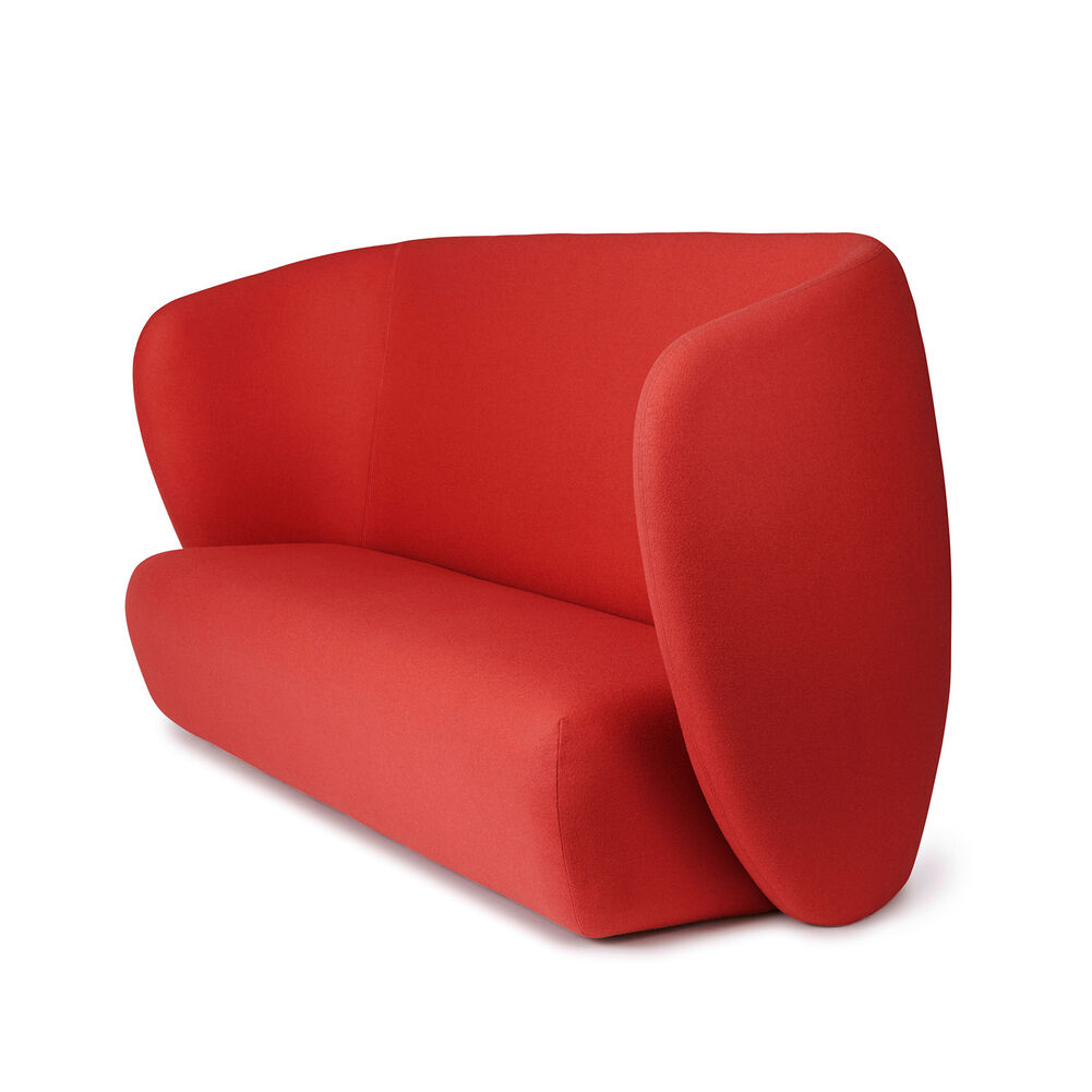 Haven sofa i apple red farve