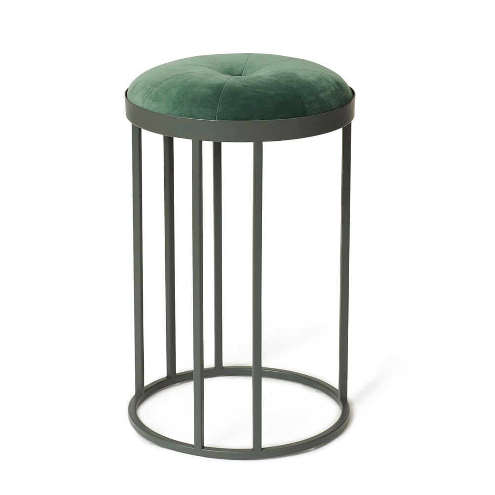 Daisy stool in forest green colour