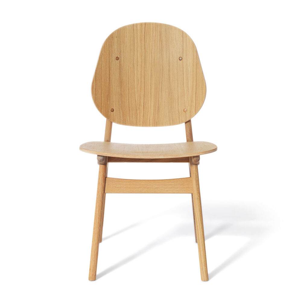 Noble dining chair in oiled oak