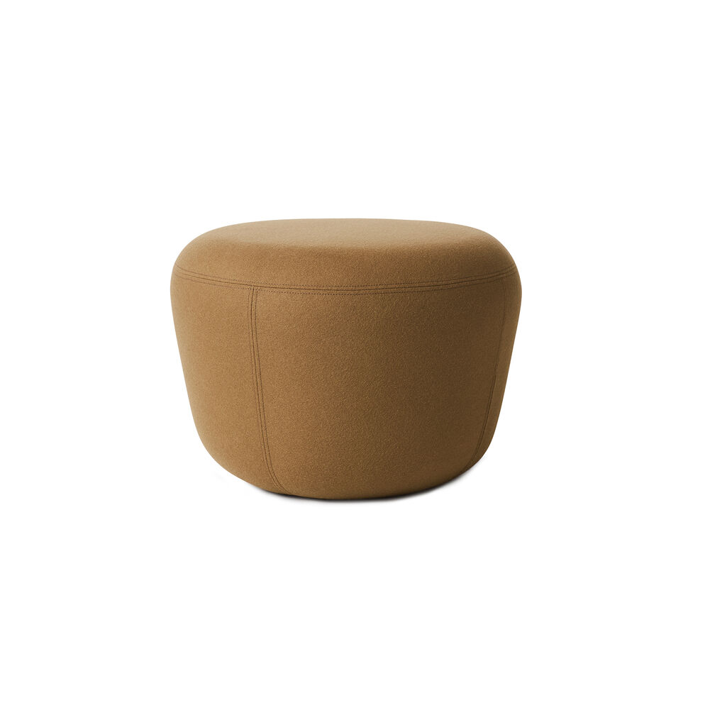 Haven pouf in olive colour