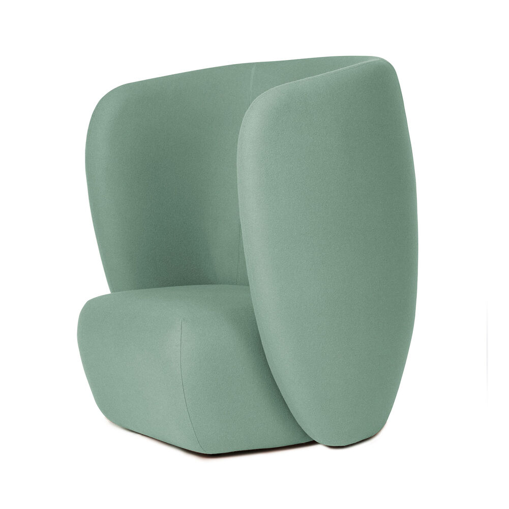 Haven lounge chair in jade colour