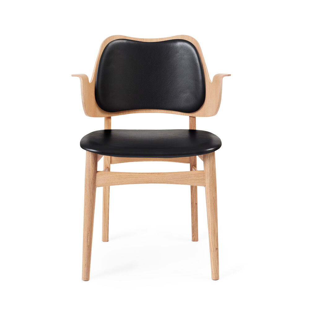 Gesture Chair i sort Prescott læder