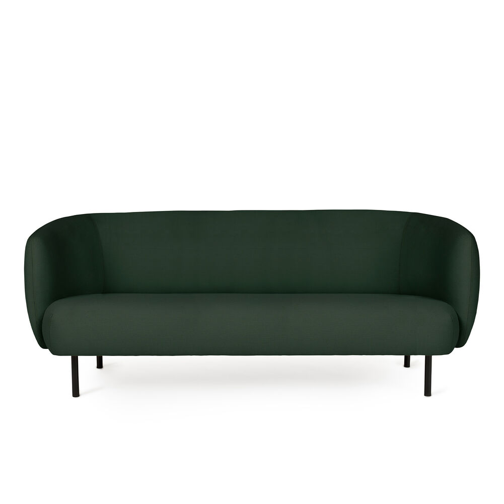 Cape sofa in forest green colour