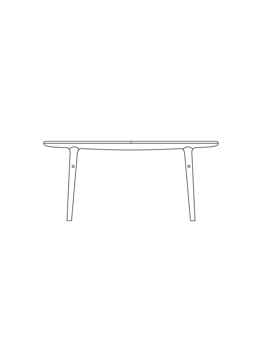 Evermore dining table illustration