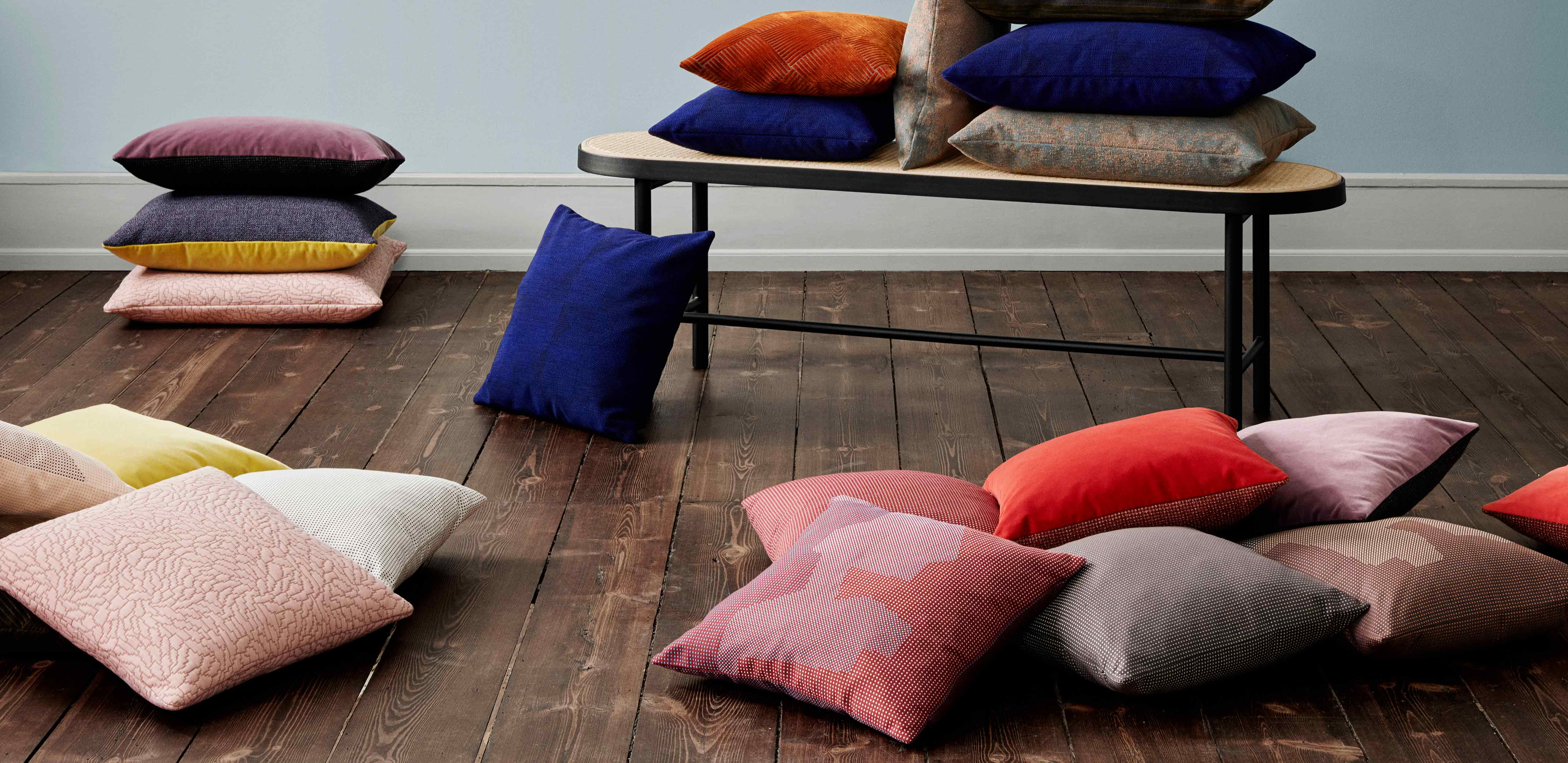 Different selection of Warm Nordic cushions
