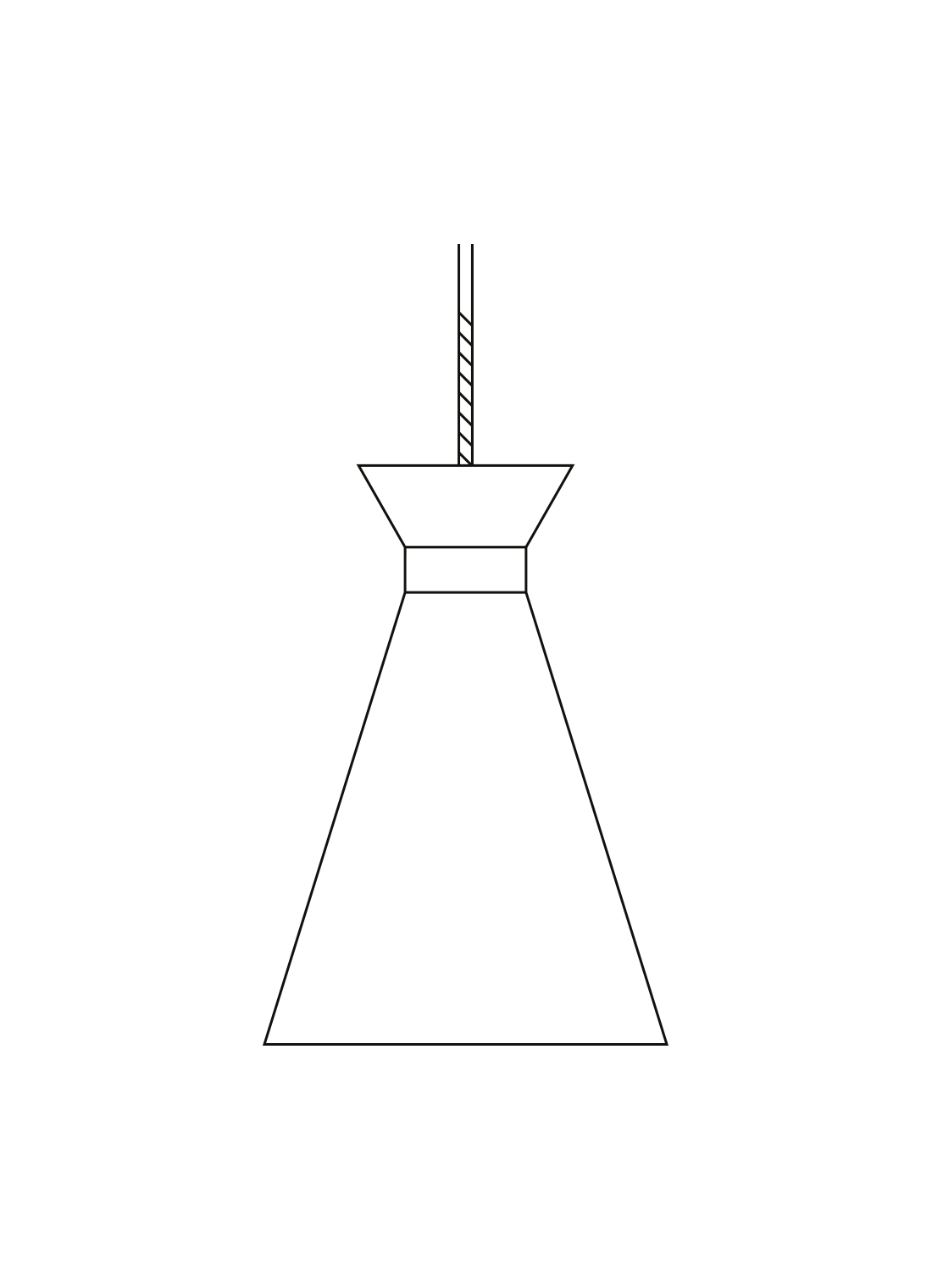 cone pendel illustration